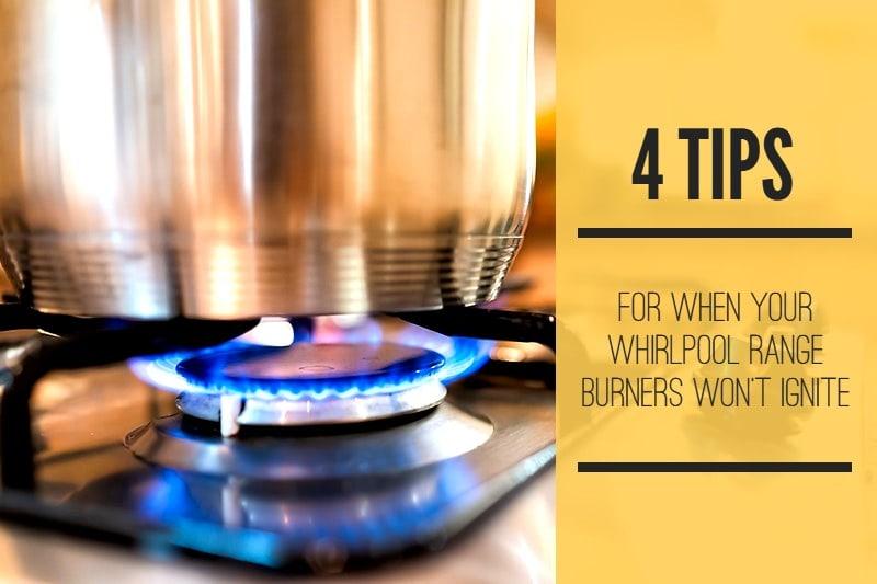 whirlpool stove igniter not clicking
