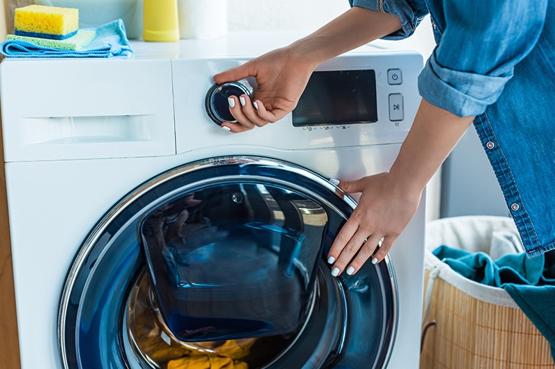 how to clean lint filter in washer