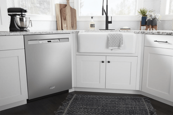 how do you fix a dishwasher door that won't close