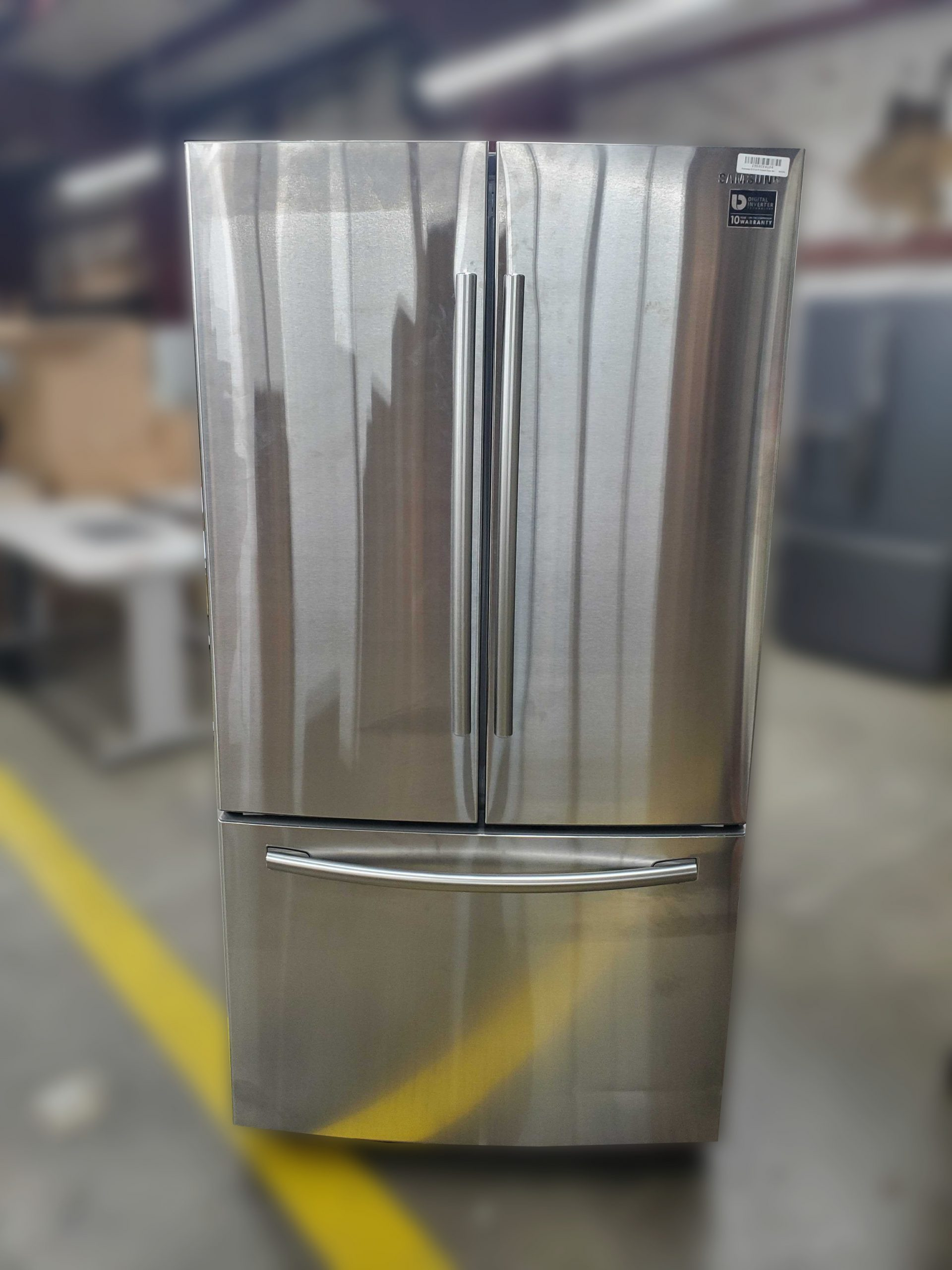 Samsung 25 5 Cu Ft French Door Refrigerator With Ice Maker Stainless Steel Appliance Repair Company In Birmingham Al
