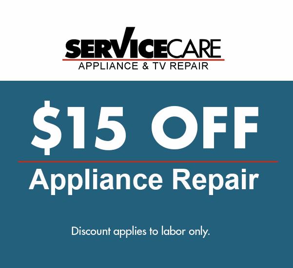 appliance repair discount