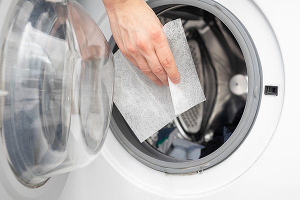 How do I get rid of static in my dryer