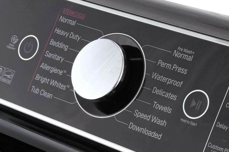 LG washing machine won't start