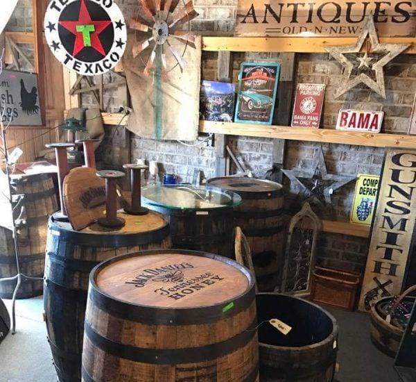 best antique shops near Smith Lake